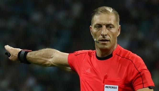"""Trọng tài người Argentina, ông Nestor Pitana được trao nhiệm vụ """"cầm cân nảy mực"""" trận khai mạc World Cup 2018 giữa chủ nhà Nga gặp Ả Rập Xê Út trên sân Luzhniki tối mai."""