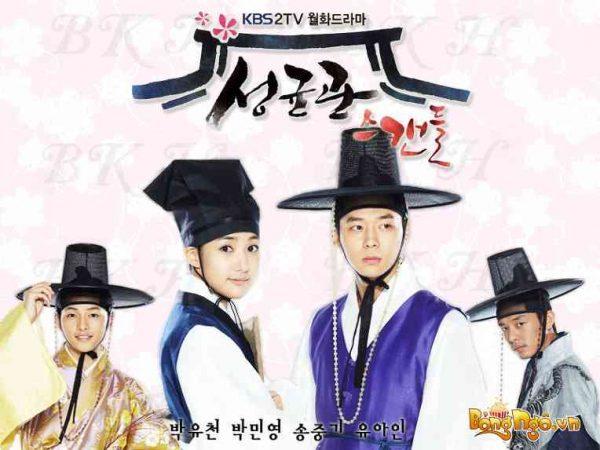 Chuyện tình Sungkyunkwan bộ phim đam mỹ Hàn Quốc cổ trang hay nhất