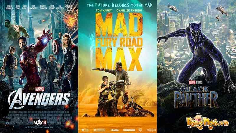 Xem phim hành động chiếu rạp hay nhất hiện nay
